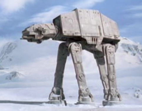 Star Wars AT-AT extrait du film